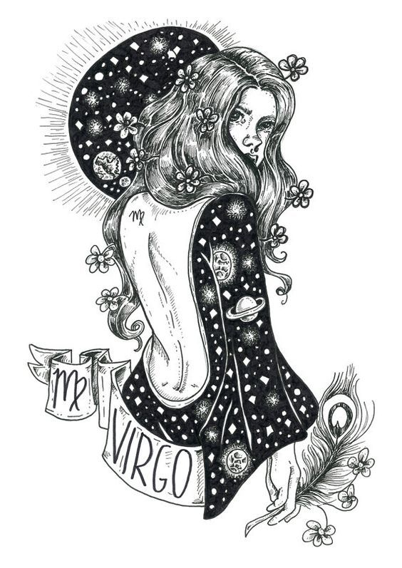 Virgo Horoscopes Tattoos Men