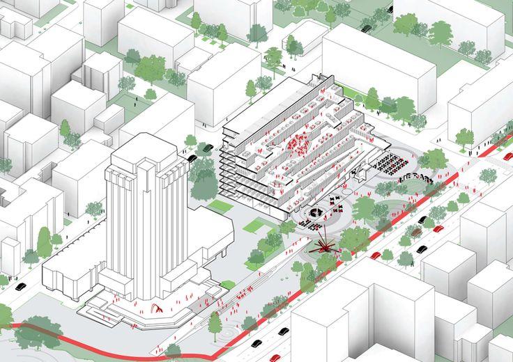 Architects for Urbanity · Varna Regional Library ''Pencho Slaveykov'', 1st prize competition winner