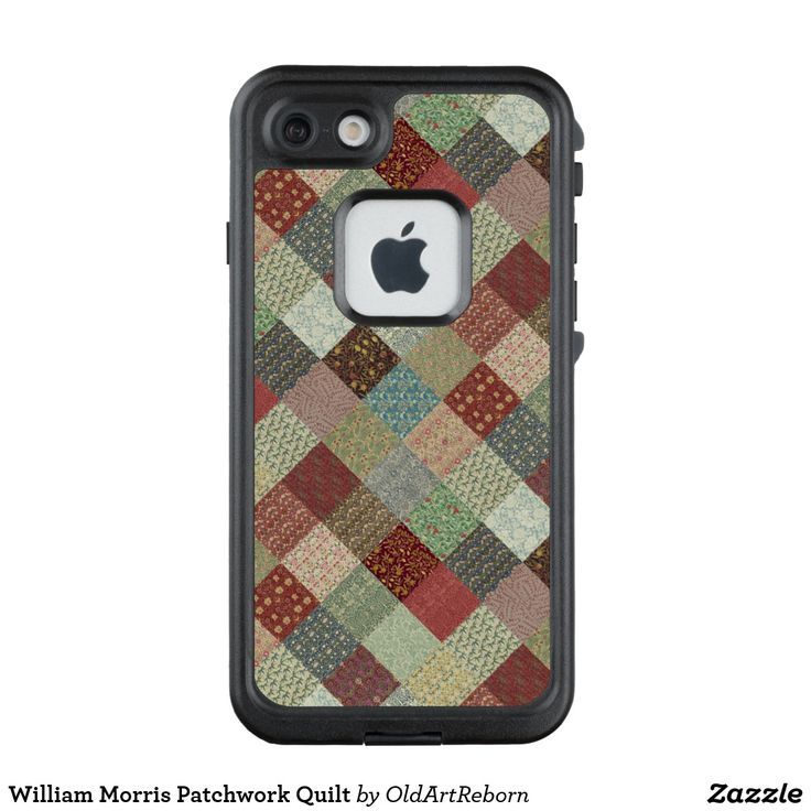 William Morris Patchwork Quilt LifeProof FRĒ iPhone 7 Case