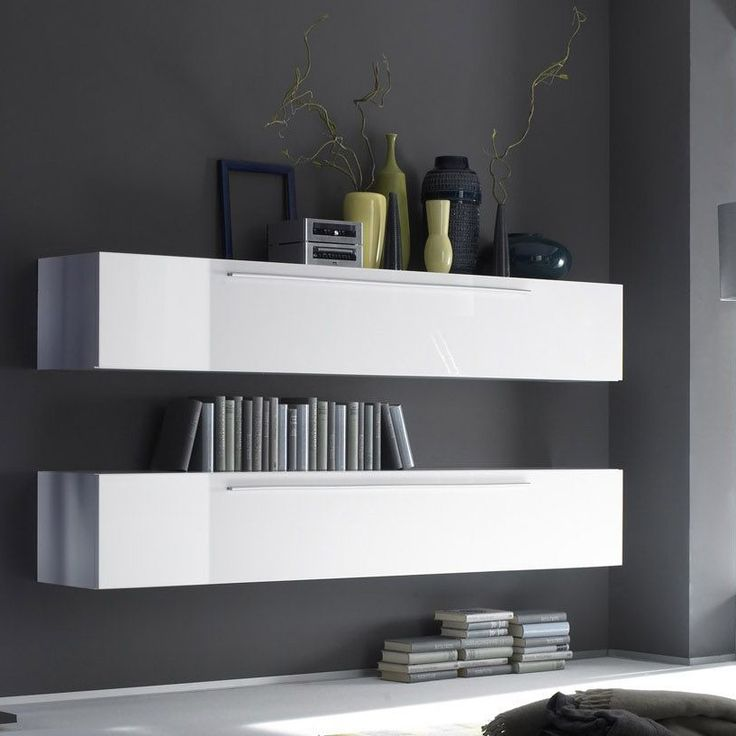 Zwevende kast tv meubel hoogglans Herning - Moderne kasten - Kasten | Zen Lifestyle