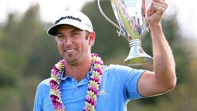 Dustin Johnson wins Hyundai Tournament of Champions in Hawaii by four shots | Golf News | Sky Sports