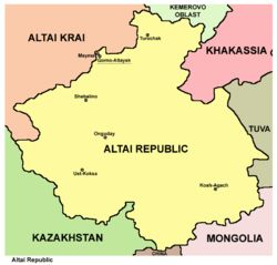 Altai Republic - Wikipedia, the free encyclopedia