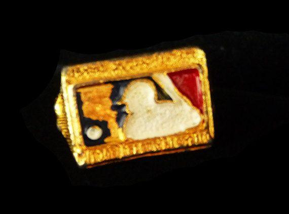 Vintage Baseball Ring - Little League Baseball Commemoration - Jr Sports Jewelry for Kids #Jewelry #Vintage #Fashion
