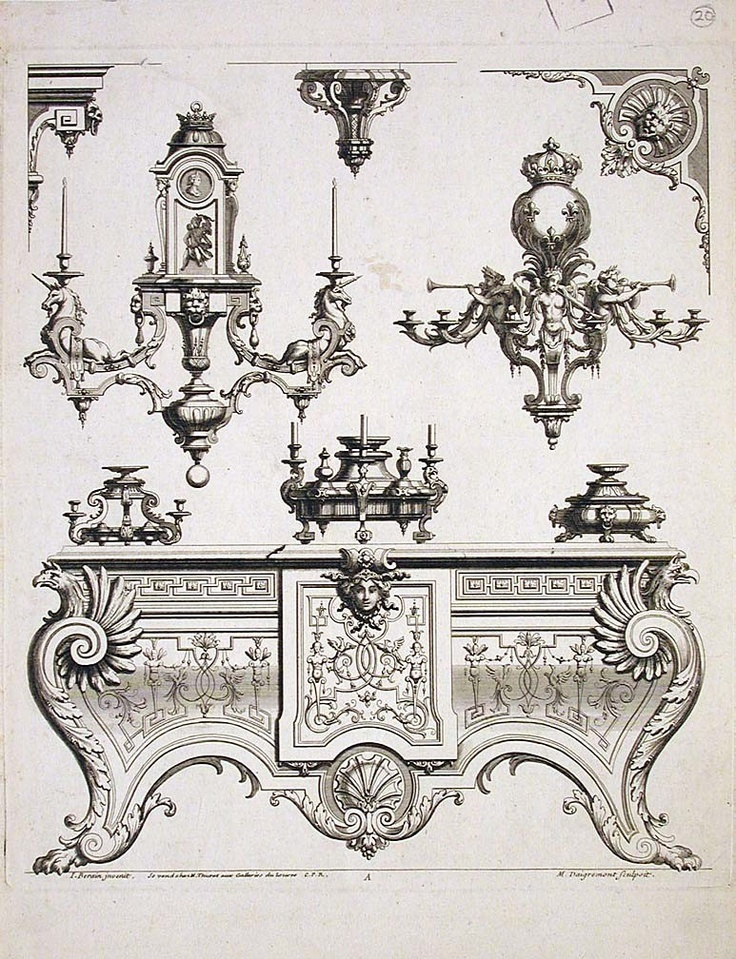 French ornaments - Google Search