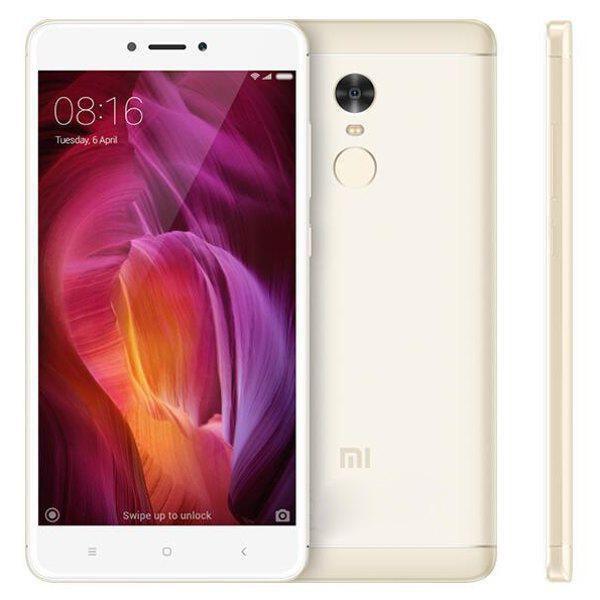 Gold Xiaomi Redmi Note 4 5 5 Inch 3gb Ram 32gb Rom Snapdragon 625 Octa Xiaomi Bar Xiaomi Smartphones For Sale Smartphone