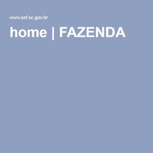 home   FAZENDA