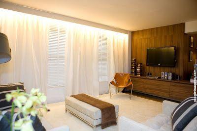 cortina iluminada