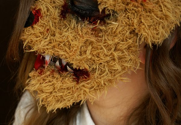 Halloween: Děsivý Plyšový Medvídek Makeup Tutorial