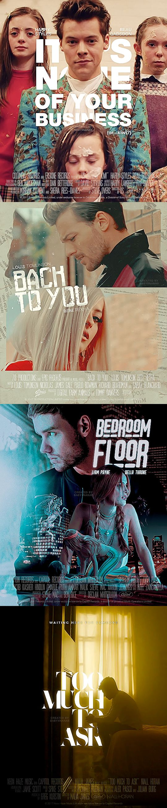 OT4 | Music Video Posters | emrosefeld |