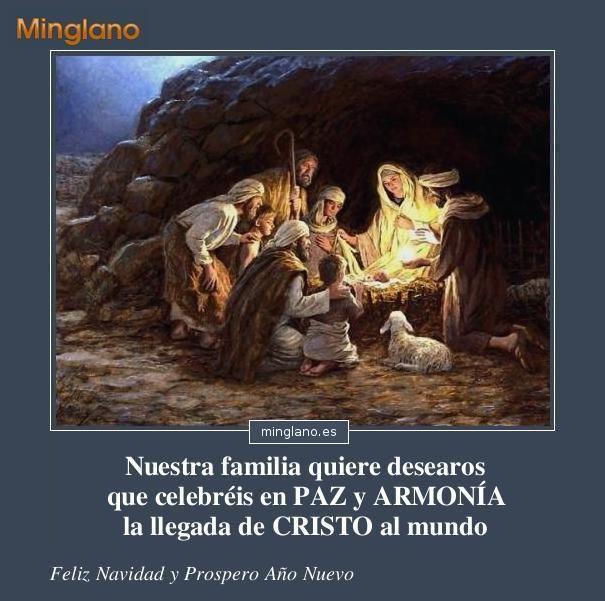 Felicitaciones de Navidad cristianas catolicas