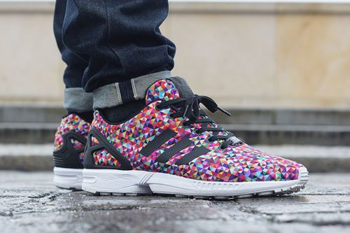 f36140389 Adidas Zx Flux Black White Prism Multicolor smithsestates.co.uk