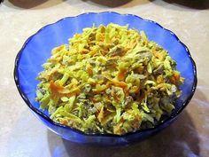Салат из сердца говяжьего с редькой
