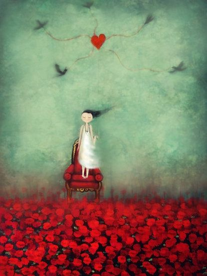 my heart is unravelling by Amanda  Cass by miss chloé