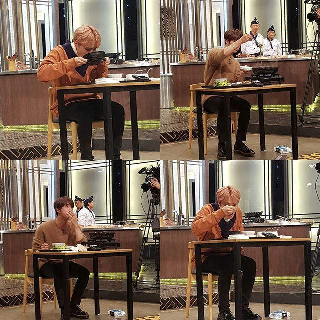 "Jin and J-Hope on ""Baek Jong Won's Top 3 Chef King"" cooking show photo's ❤ (sbs_3king IG Update) #BTS #방탄소년단"