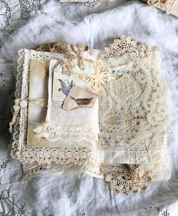 Reserved Vintage Linen And Lace Journal Heirloom Journal Etsy Vintage Linens Linens And Lace Fabric Book