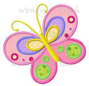 Patrón de digital y diseño en bordado mariposa por WendysStitch