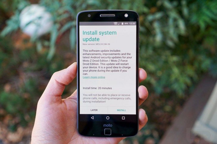 Moto Z Droid and Z Force Droid get their first software updates, July security patch included - http://wp.me/p6XTJV-2CS