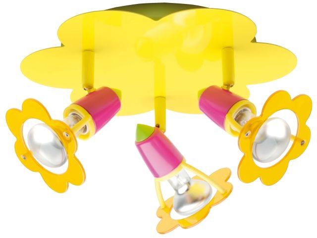 MAYA - detské farebné svetlo s motívom kvietku 42,75e