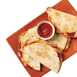 Budget Cooking: Feed 4 for $10 | Kid-tastic Pizzadillas | CookingLight.com Great for fun work lunches, too