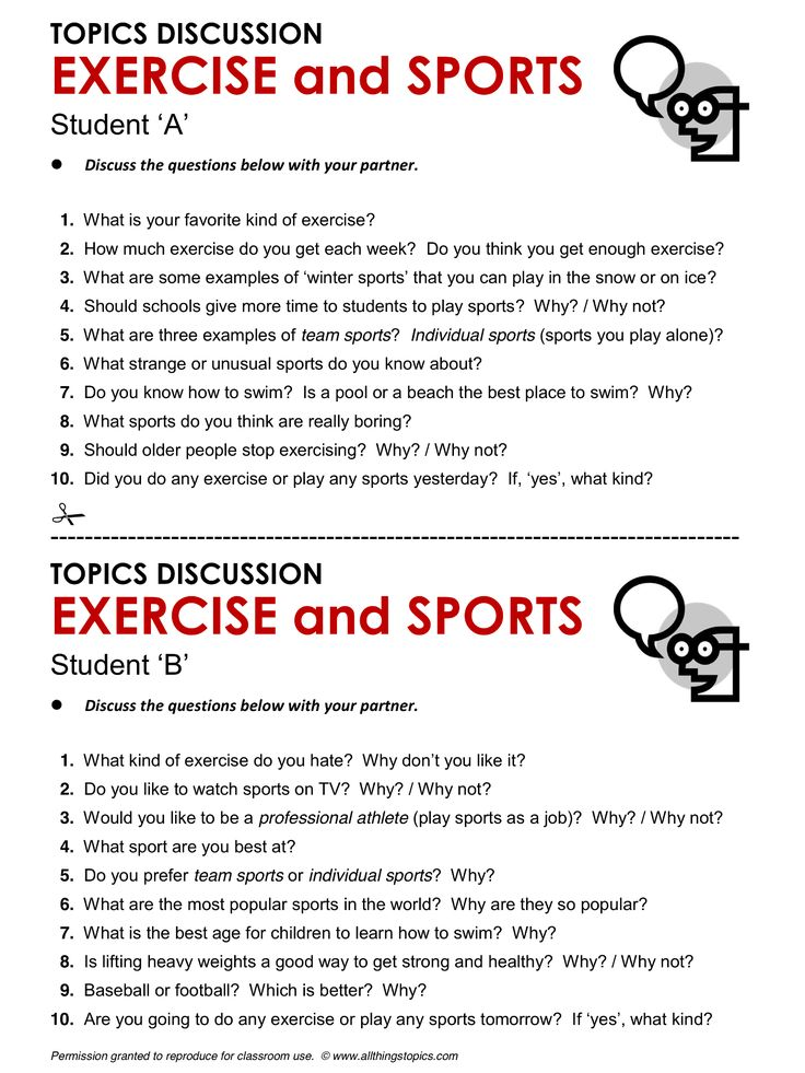 Exercise and Sports, English, Learning English, Vocabulary, ESL, English Phrases, http://www.allthingstopics.com/exercise-and-sports.html