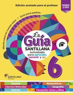Guia Santillana 6° Maestro By Copyright4