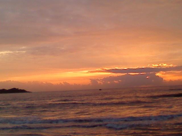 Nascer do sol - Praia Acaiaca
