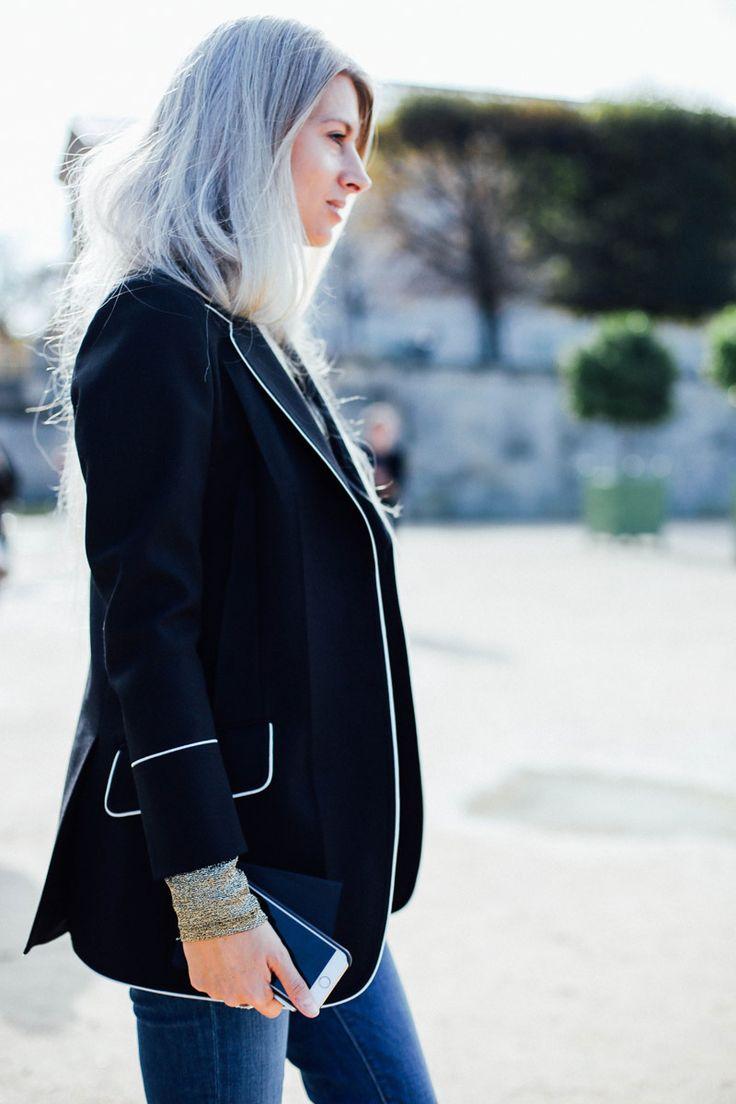 #StreetStyle #PFW Día 7. #ParisFashionWeek #Moda #Fashion #LafayetteFashion Fotos: @voguespain