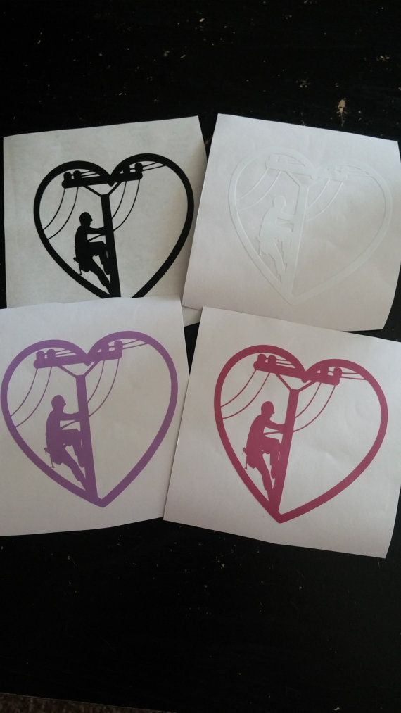 Linewife decals by CrackerChild on Etsy