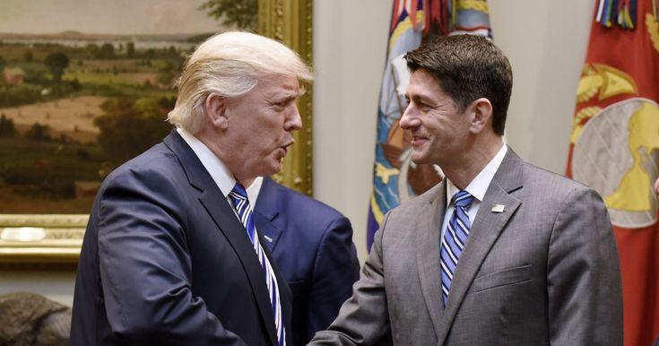 Paul Ryan Helps Trump Undermine Rule of Law Once Again