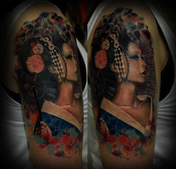 17 Best Images About Tattoos On Pinterest: 17 Best Images About Geisha Tattoos On Pinterest
