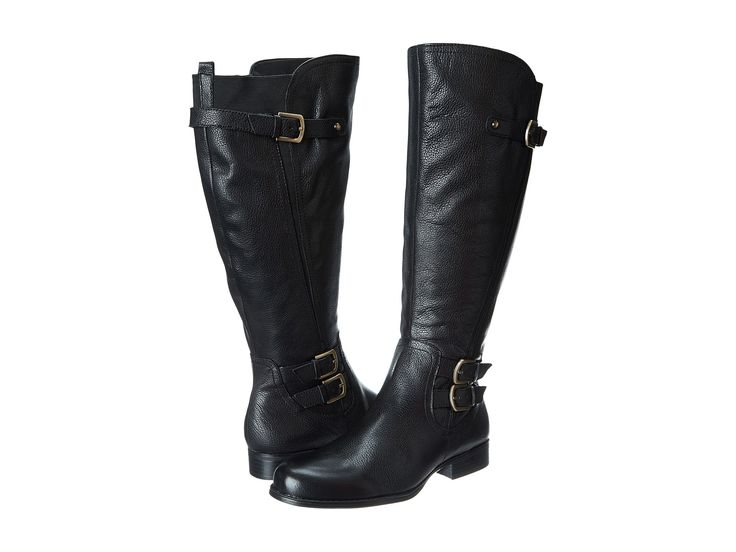 Womens Boots Naturalizer Johanna Black Tumbled