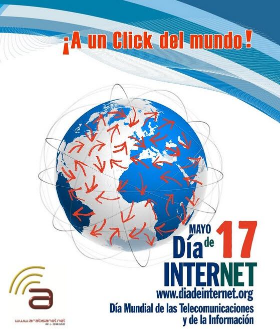 Feliz Día de Internet Día Mundial de las Telecomunicaciones y de la Información #Arabsanet #Internet #Telecomunicaciones Información