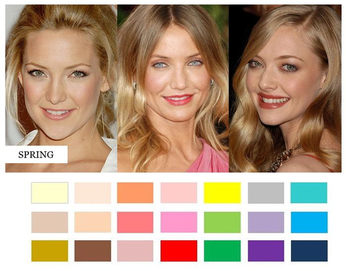 Clear Spring Color Palette Which colors flatter you most?