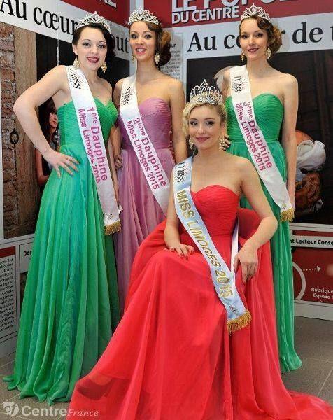 Passion Miss : forum actualités des Miss France, nationales,régionales, locales et internationales :: Miss Limoges 2015