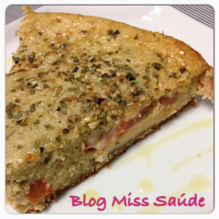 Miss Saúde : Torta de aveia salgada recheada com filé de frango grelhado - Free farinha