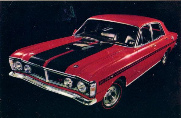 1971 Ford Falcon GT - Considered the greatest of all Australian muscle cars
