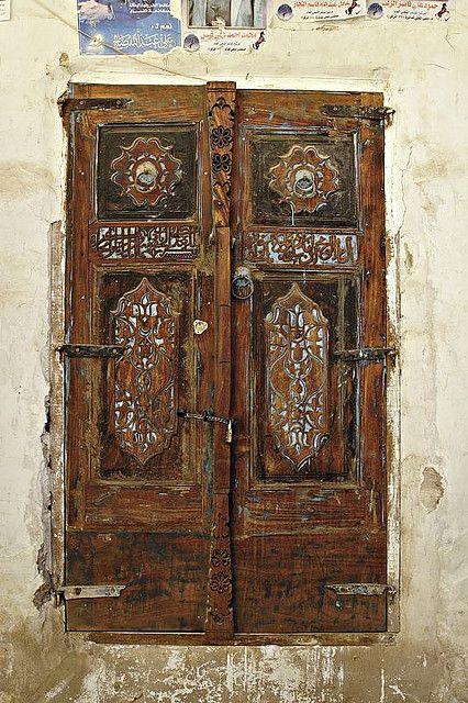 Yemen...so is this a door or window?! Love it either way!