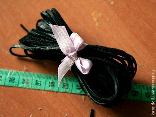 как сделать шнурок из обрезков кожи (7) (500x375, 262Kb)