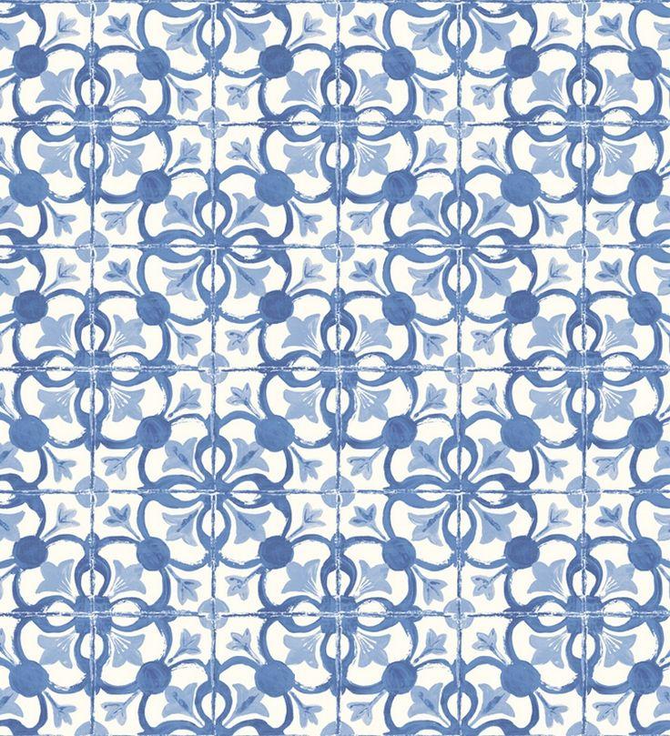 Las 25 mejores ideas sobre cocinas cobalto azul en pinterest azulejos marroqu es cobalto y - Papel pintado sobre azulejos ...