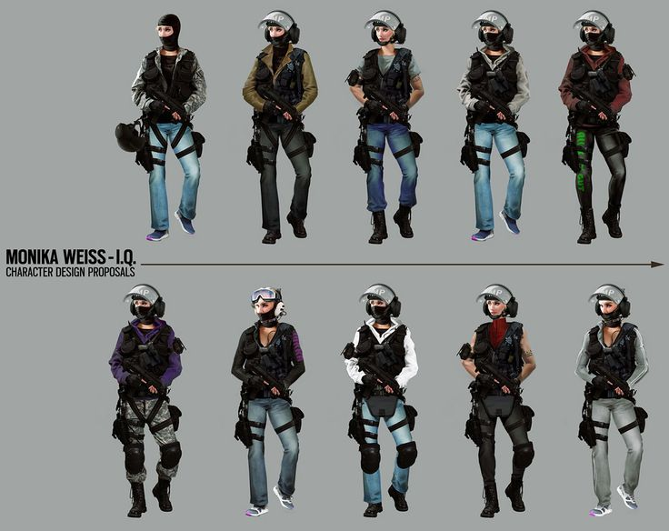Tom Clancy's Rainbow Six Siege - IQ Concept