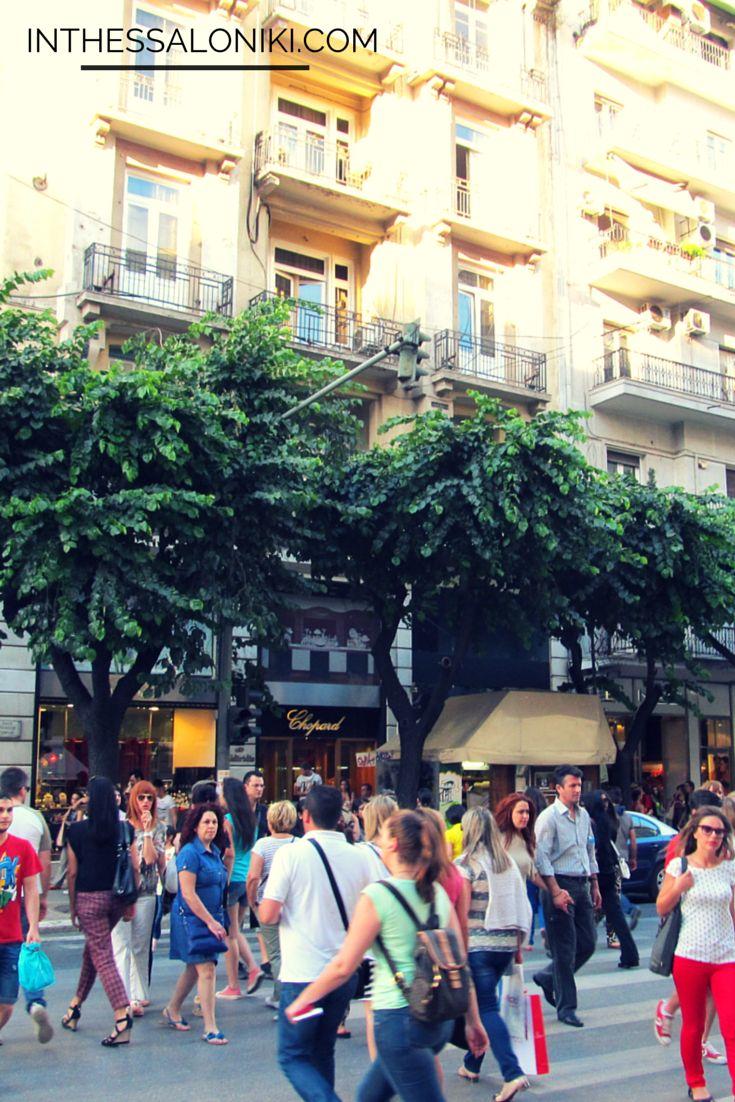 Thessaloniki, Greece. Streetlife.