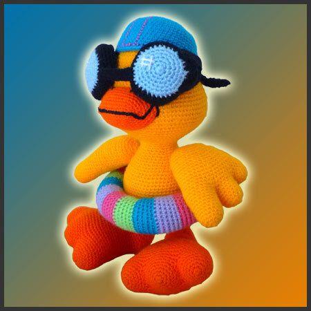 Amigurumi Pattern Crochet Duckie Duck DIY Digital Download by DeliciousCrochet on Etsy https://www.etsy.com/listing/108110498/amigurumi-pattern-crochet-duckie-duck