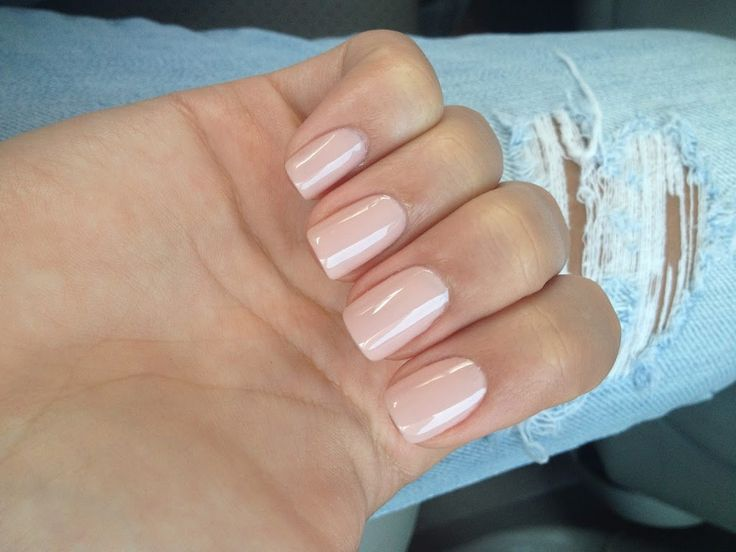 Nail polish – Essie Topless and Barefoot with Sugar Daddy layered on top  – The Beauty Residence