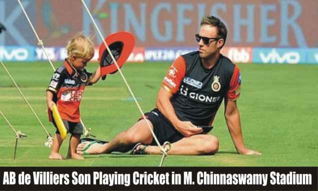 AB De Villiers' Little Son Playing Cricket Is The Most Awwwdorable Thing On Internet Today! #IPL