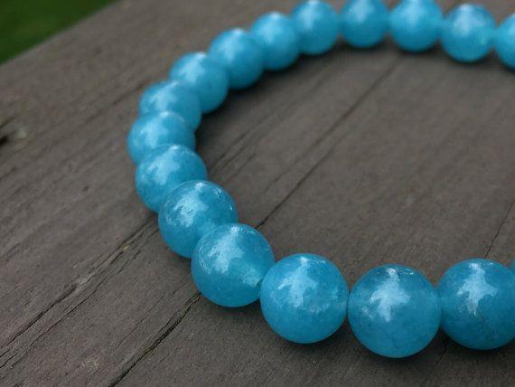 Blue Quartz Crystal Healing Bracelet #diy #crafts #crystals #frequencygear #TheCosmicGarden