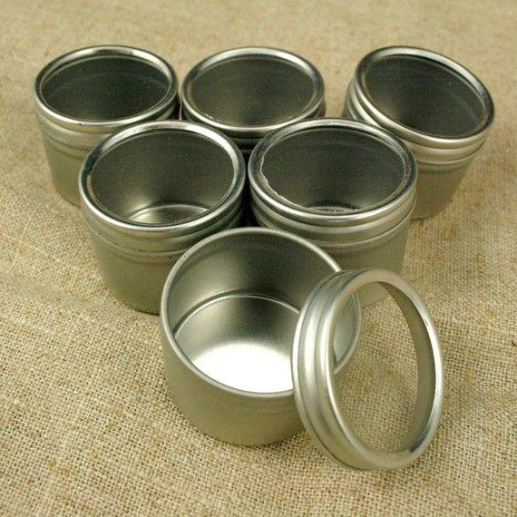 Round Window Tins