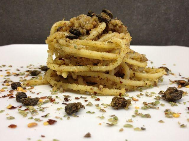 architettando in cucina: Spaghetti alle briciole con i profumi di Pantelleria