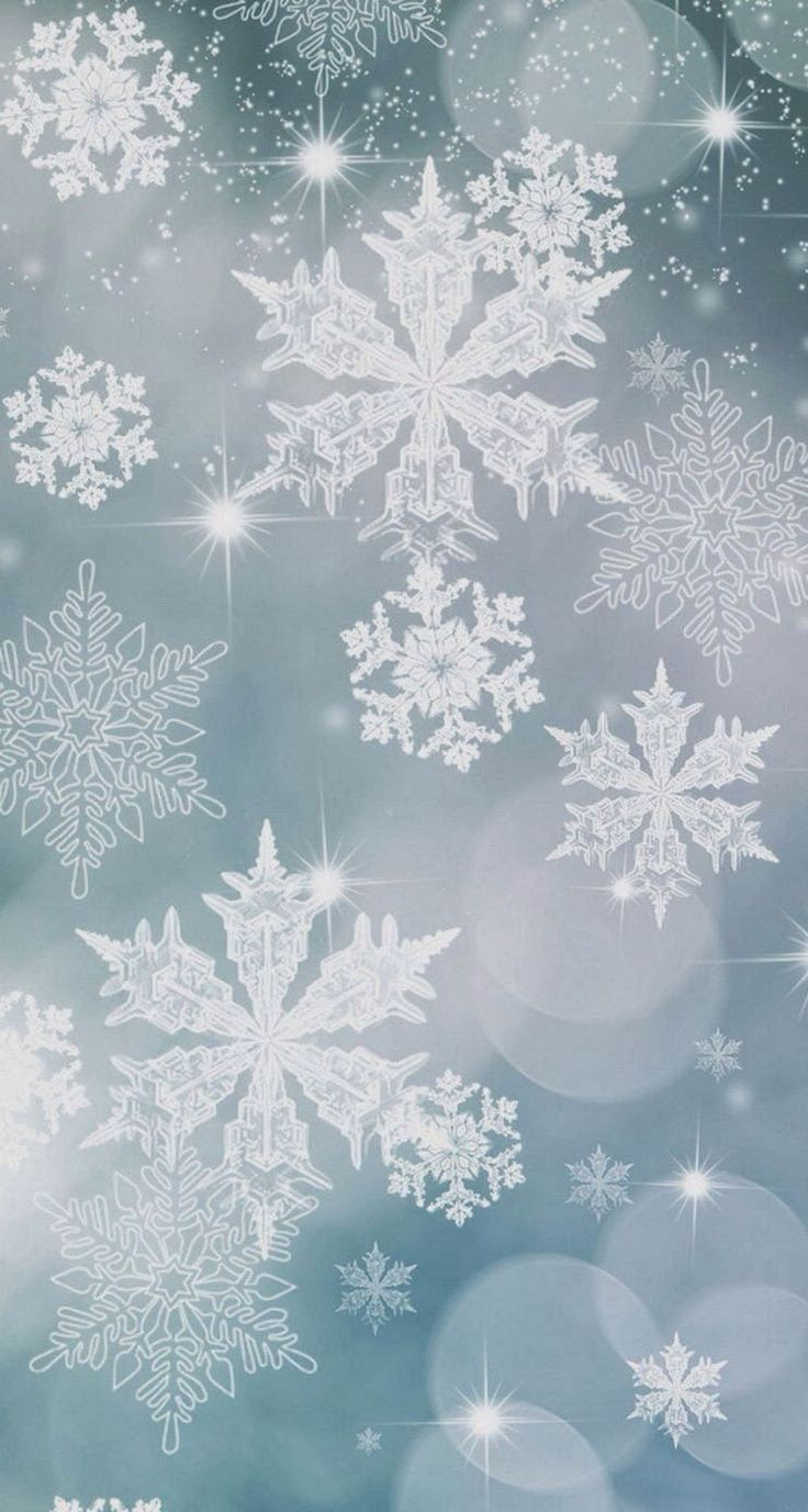 SnowflakePatternBackgroundiphone5sparallaxwallpaper