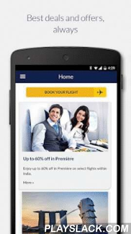 Jet Airways  Android App - playslack.com ,  Welcome to the Jet Airways Mobile app for Android!Now travel smart and stay connected with the all new Jet Airways mobile app. With this safe and secure tool you can seamlessly plan your trip, search for the lowest fares, check-in, view your flight status, discover special offers, manage your booking and your JetPrivilege account. Highlights:1. Flights – Seamlessly book and pay for domestic and international flights using multiple payment options…