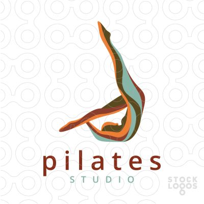 Exclusive Customizable Logo For Sale: pilates | StockLogos.com